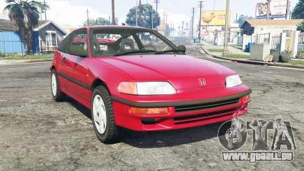 Honda CR-X (EF) 1991 pour GTA 5