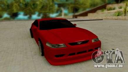 Ford Mustang Cobra SVT für GTA San Andreas