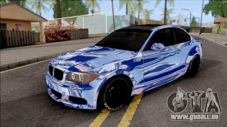 BMW 135i E82 Juca für GTA San Andreas