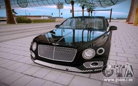 Bentley Bentayga pour GTA San Andreas