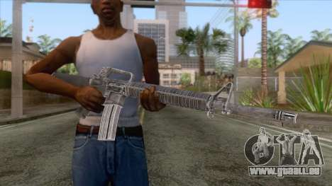 M16A2 Assault Rifle v3 für GTA San Andreas