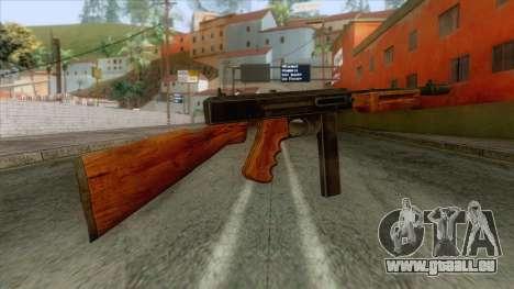 Volstead SMG Rifle für GTA San Andreas zweiten Screenshot