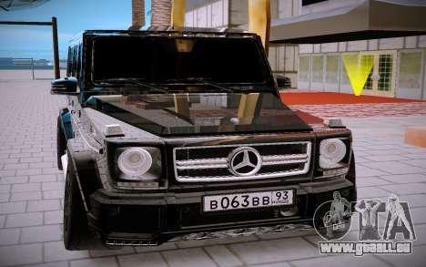 Mercedes Benz G63 Brabus für GTA San Andreas