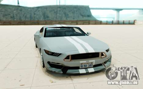 Ford Shelby GT350R pour GTA San Andreas