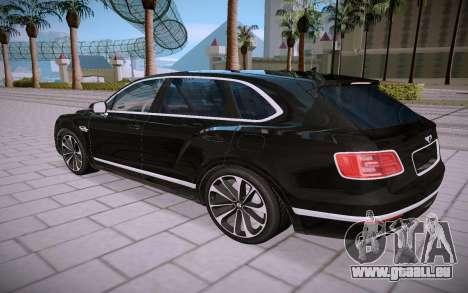 Bentley Bentayga für GTA San Andreas