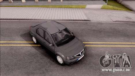 Dacia Logan Prestige 1.6 16v pour GTA San Andreas