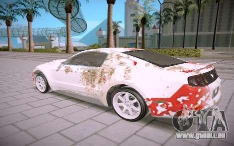 Ford Mustang GT500 für GTA San Andreas