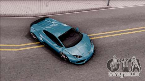 Lamborghini Huracan LB Team-eXtreme pour GTA San Andreas vue de droite