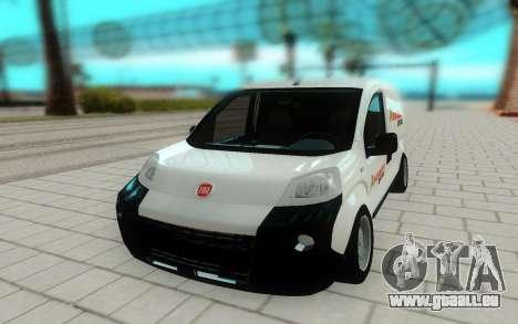 Fiat Fiorino pour GTA San Andreas vue de droite