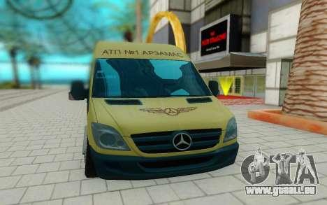 Mercedes-Benz Sprinter für GTA San Andreas