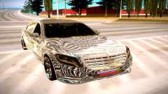 Mercedes-Benz S600 X222 für GTA San Andreas