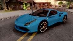 Ferrari 488 Spider 2016 für GTA San Andreas