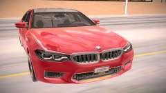 BMW M5 F90-rot für GTA San Andreas