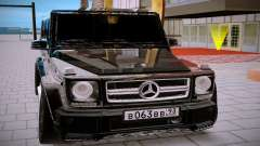 Mercedes Benz G63 Brabus pour GTA San Andreas