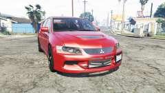 Mitsubishi Lancer Evolution IX [replace]