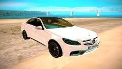 Mercedes-Benz E63 AMG белый für GTA San Andreas
