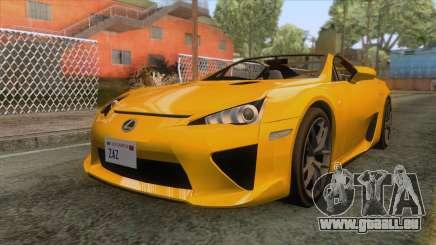 Lexus LFA Roadster 2013 pour GTA San Andreas