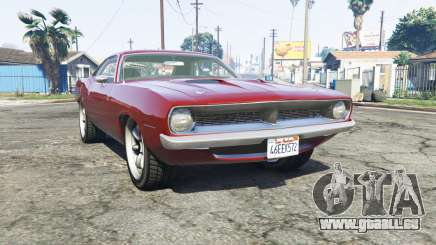 Plymouth Barracuda 1970 v2.0 [replace] pour GTA 5