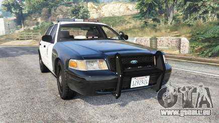Ford Crown Victoria Police [replace] für GTA 5