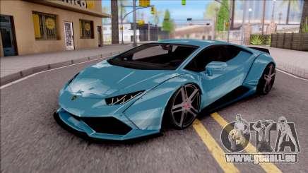 Lamborghini Huracan LB Team-eXtreme für GTA San Andreas
