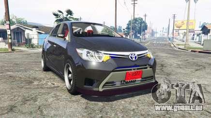Toyota Vios (XP150) 2013 [replace] pour GTA 5