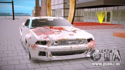Ford Mustang GT500 pour GTA San Andreas