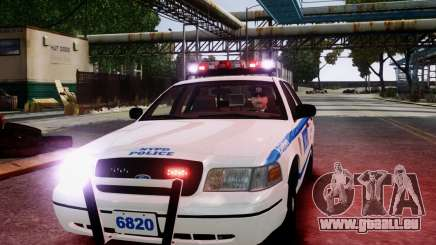 Ford Crown Victoria NYPD [ELS] für GTA 4