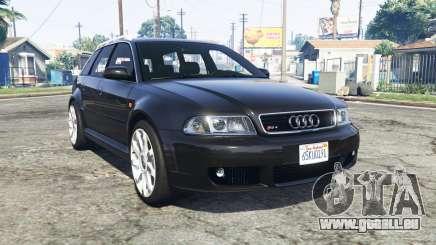Audi RS 4 Avant (B5) 2001 v1.2 [replace] pour GTA 5