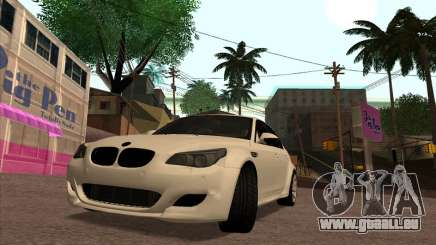 BMW M5 E60 Lumma Edition By Ulvi Agazade für GTA San Andreas