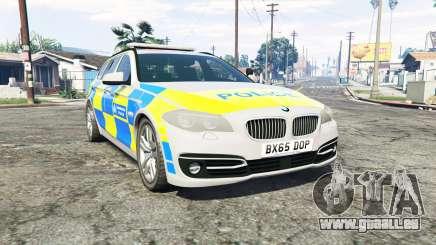 BMW 525d Touring Metropolitan Police [replace] für GTA 5