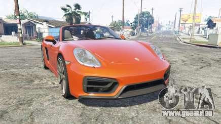 Porsche Boxster GTS (981) v1.2 [replace] pour GTA 5