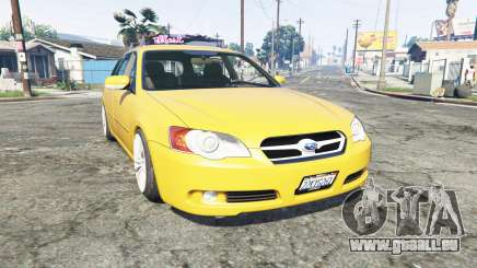 Subaru Legacy Touring Wagon (BP5) [replace] pour GTA 5
