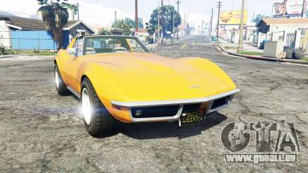 Chevrolet Corvette (C3) Stingray 1968 [replace] pour GTA 5