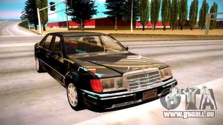 Mercedes-Benz E500 W124 1992 pour GTA San Andreas
