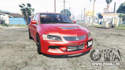 Mitsubishi Lancer Evolution IX [replace] pour GTA 5