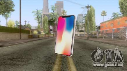 iPhone X White pour GTA San Andreas