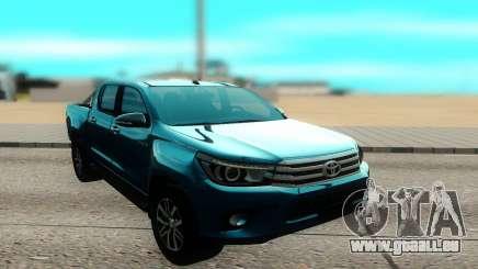 Toyota Hilux Sr5 2017 pour GTA San Andreas