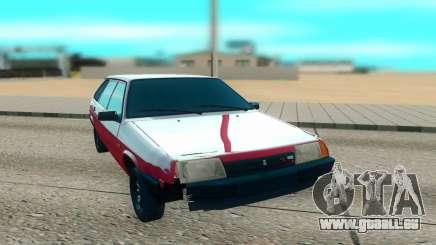 2109 rouge pour GTA San Andreas