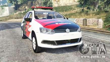 Volkswagen Voyage brazilian police [replace] pour GTA 5