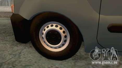 Renault Kangoo Mk1 pour GTA San Andreas vue arrière