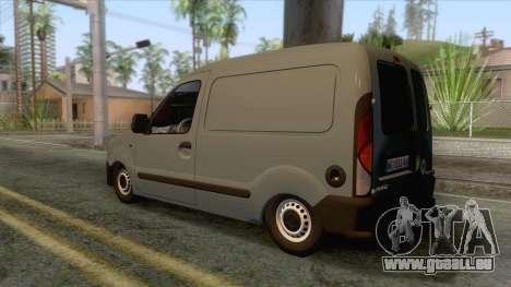 Renault Kangoo Mk1 pour GTA San Andreas laissé vue