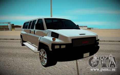 GMC Savana C5500 pour GTA San Andreas