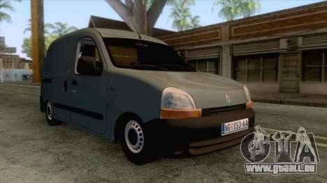 Renault Kangoo Mk1 pour GTA San Andreas sur la vue arrière gauche
