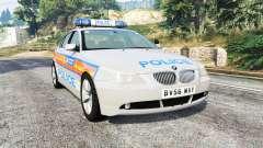 BMW 525d (E60) Metropolitan Police [replace]