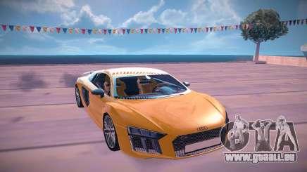 Audi V10 Plus für GTA San Andreas