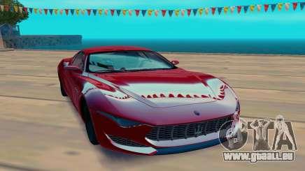 Maserati Alfieri Concept pour GTA San Andreas