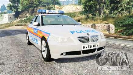 BMW 525d (E60) Metropolitan Police [replace] pour GTA 5