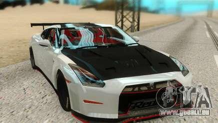 Nissan GTR Nismo pour GTA San Andreas