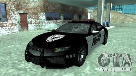 Lamborghini Estoque Concept NFS Police Custom pour GTA San Andreas