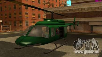 VCPD Maverick from GTA Vice City pour GTA San Andreas